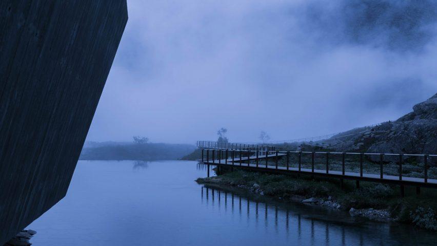 Reiulf Ramstad-designed Trollstigen Visitor Centre