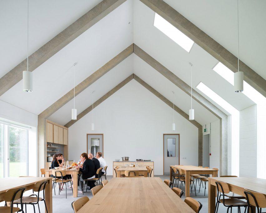 Walters & Cohen Architects' Vajrasana Buddhist Retreat Centre in Suffolk