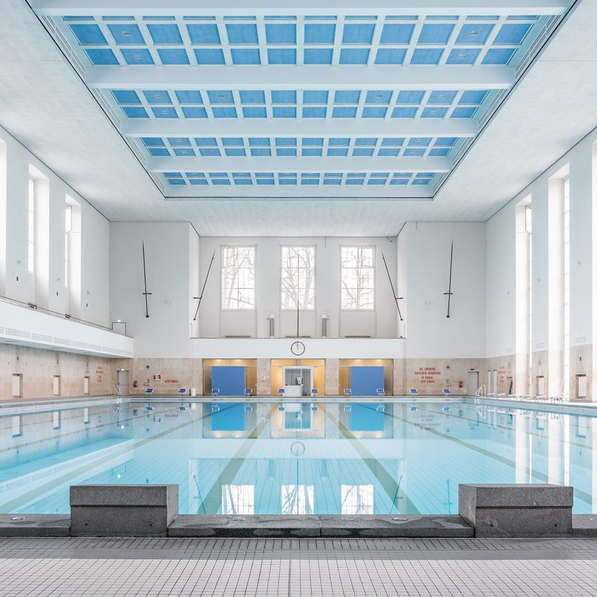 Berlin Nazi-era swimming pool