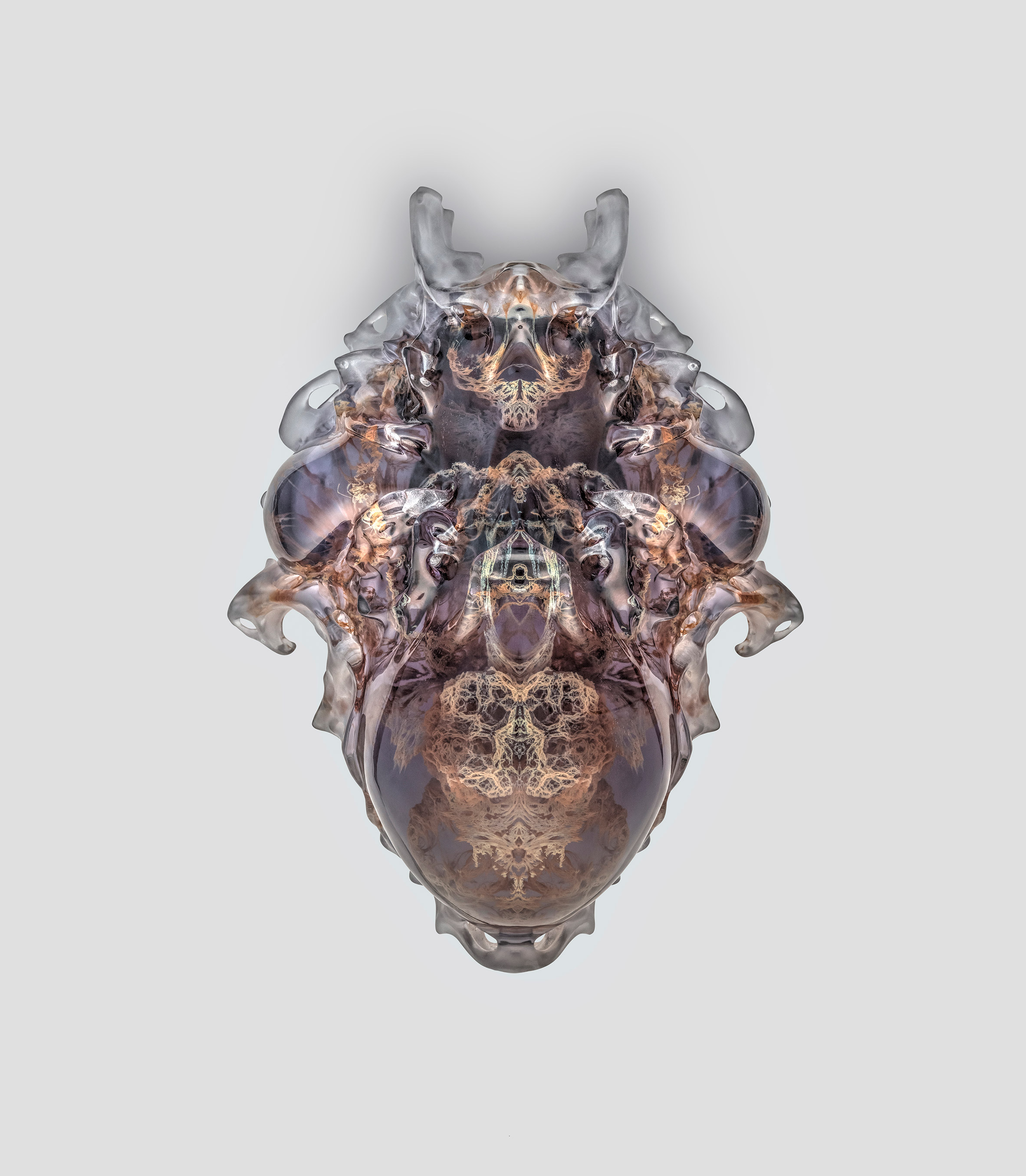 Neri Oxman creates 3D-printed versions of ancient death masks