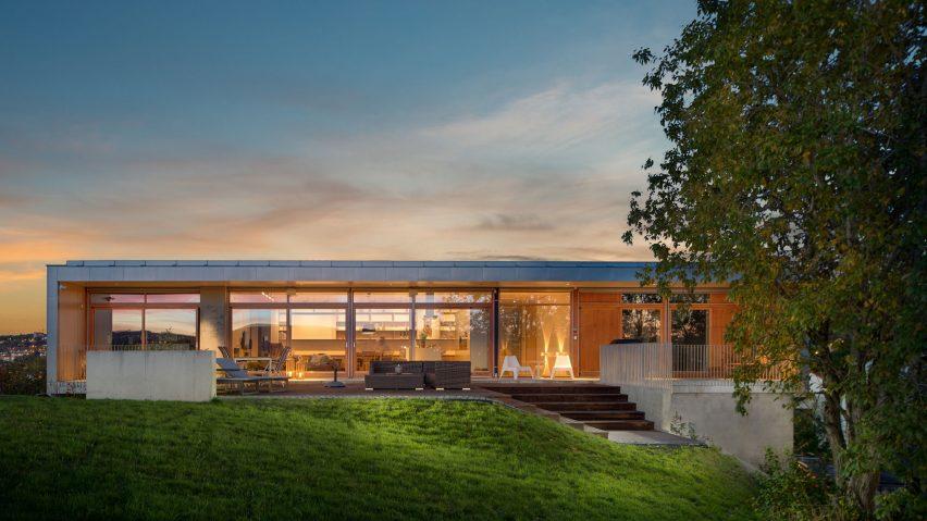 Nordicu0027s Villa Vatnan Is A Hilltop House With A View Over A Norwegian City