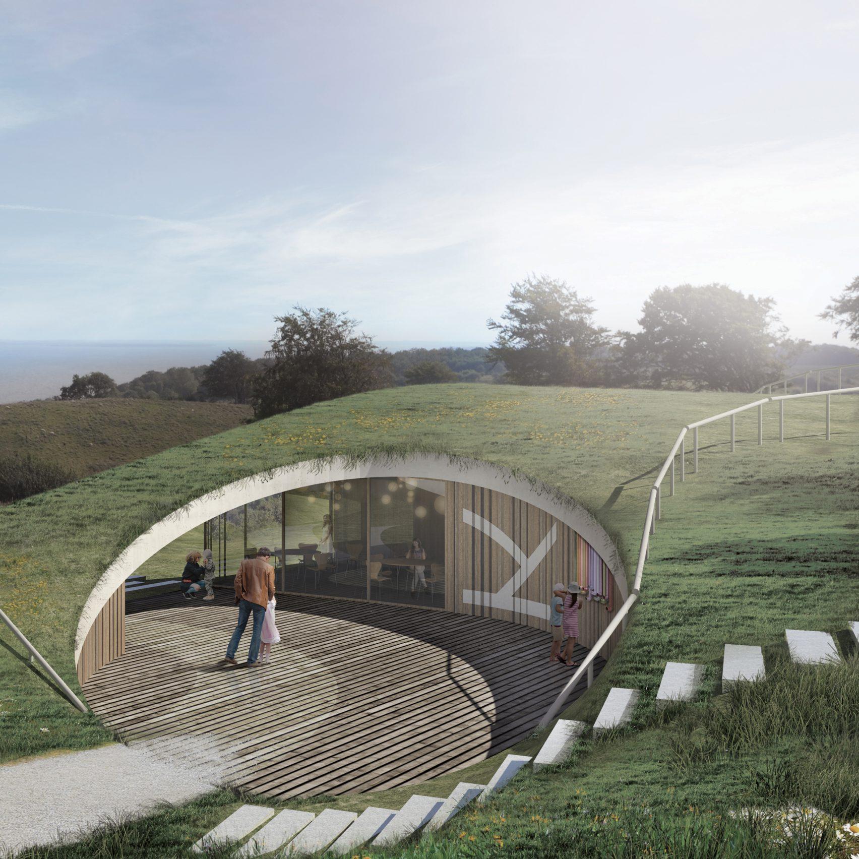 Visitor Centre by CEBRA architecture