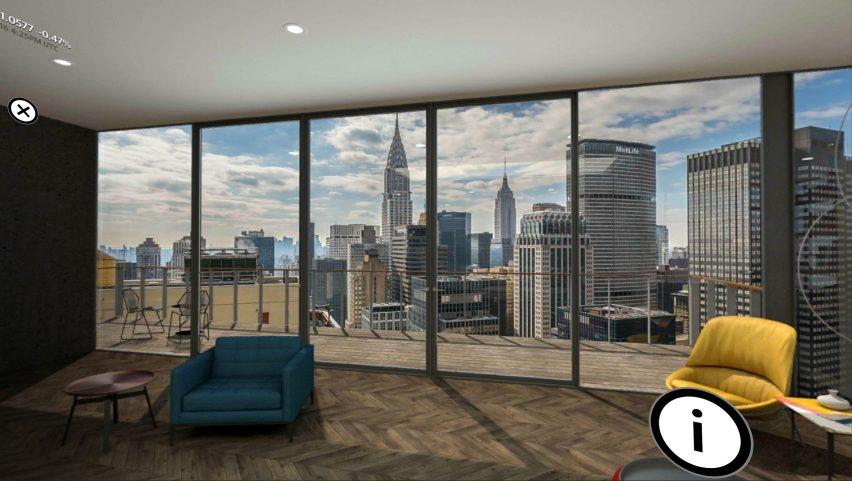 Michaelis Boyd designs virtual reality environment for Wall Street Journal