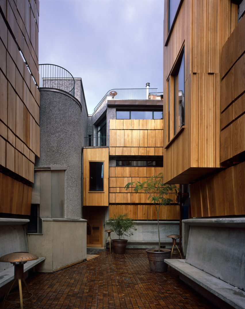 Peter Salter creates labyrinthine London townhouses