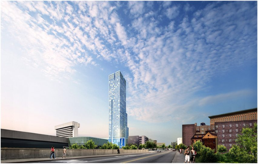 Tower in New Jersey by HWKN architecture tower