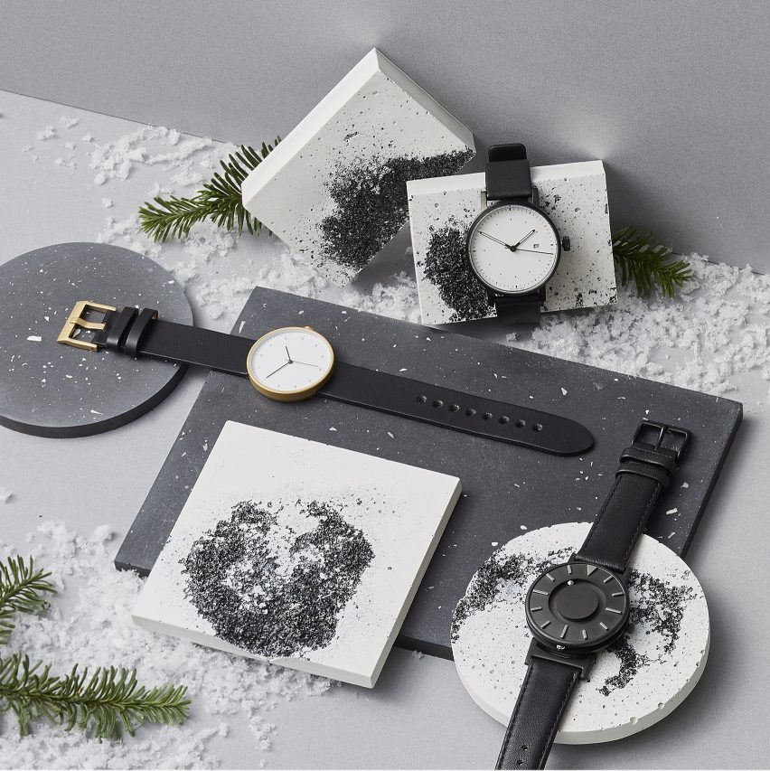 Dezeen Watch Store collaboration watches
