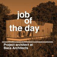 Job of the day: project architect at Baca Architects