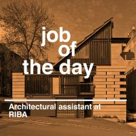 Job of the day: architectural assistant at RIBA