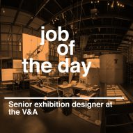 Job of the day: senior exhibition designer at the V&A