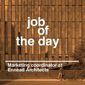 Dezeen Jobs architecture and design recruitment Ennead Architects marketing coodinator