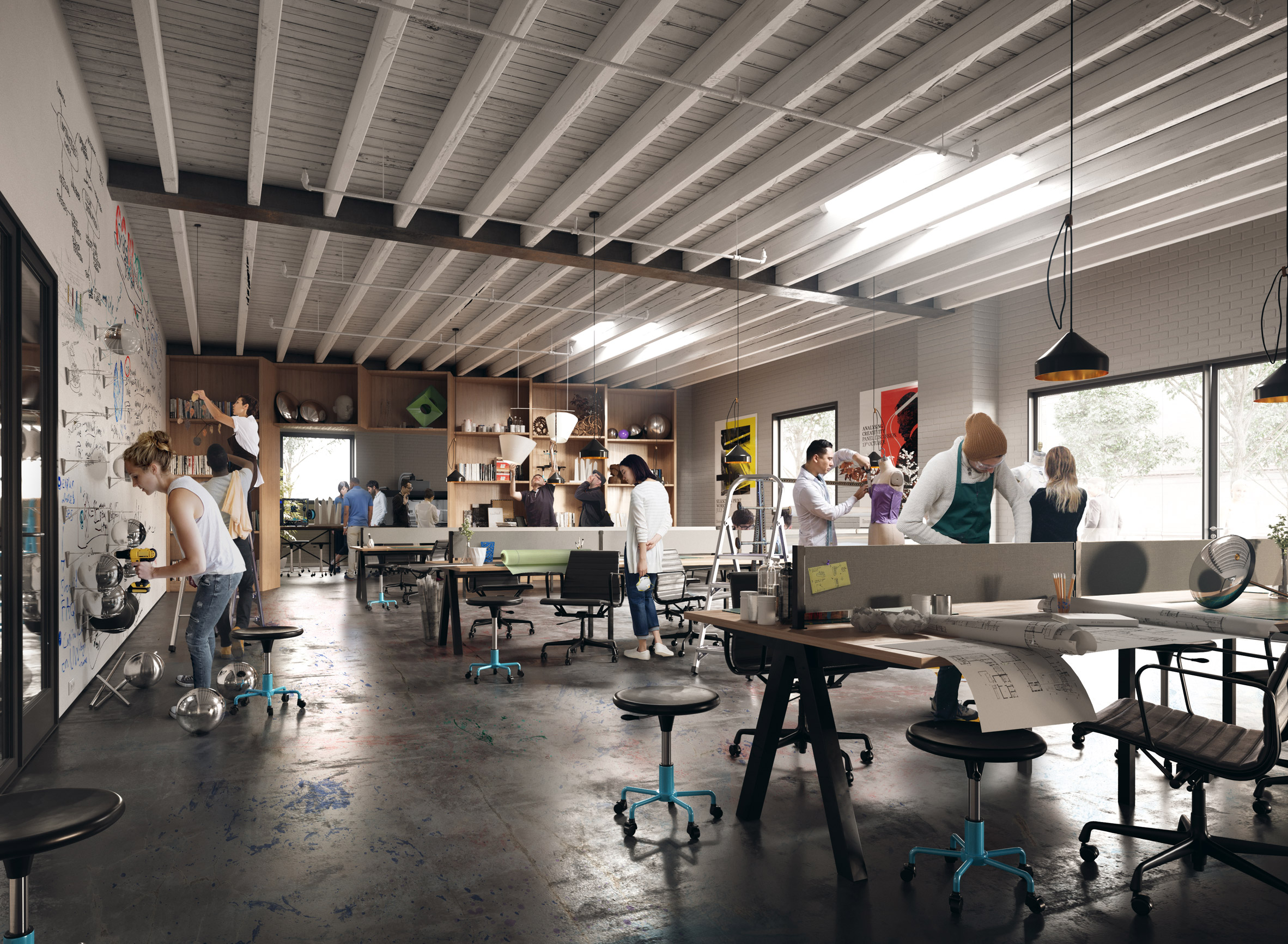 MINI and Jaguar Land Rover launch creative spaces