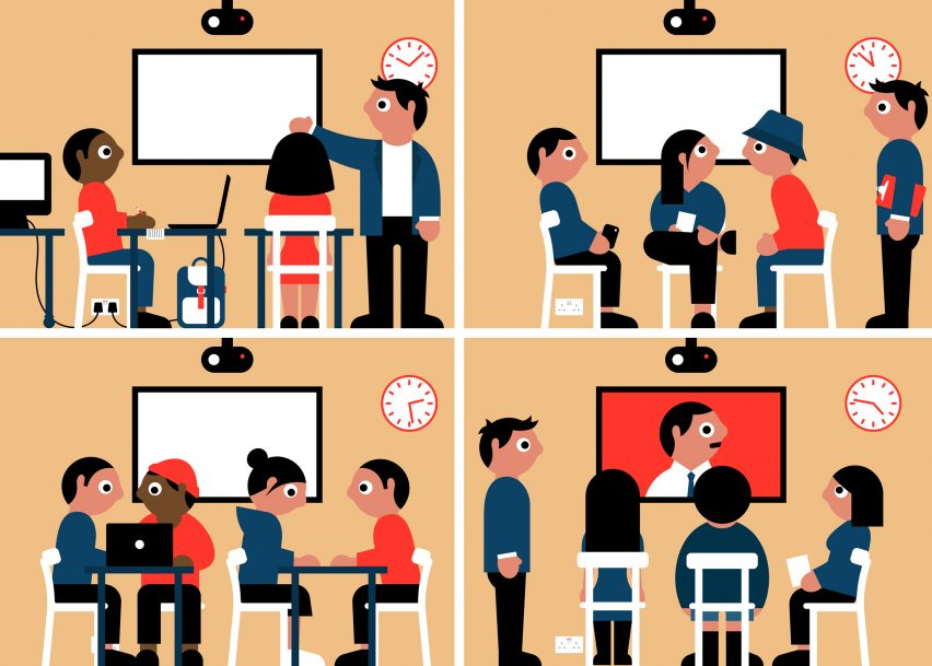 """Universities undergo """"quiet revolution"""" as they switch to open-plan learning, Haworth report finds"""