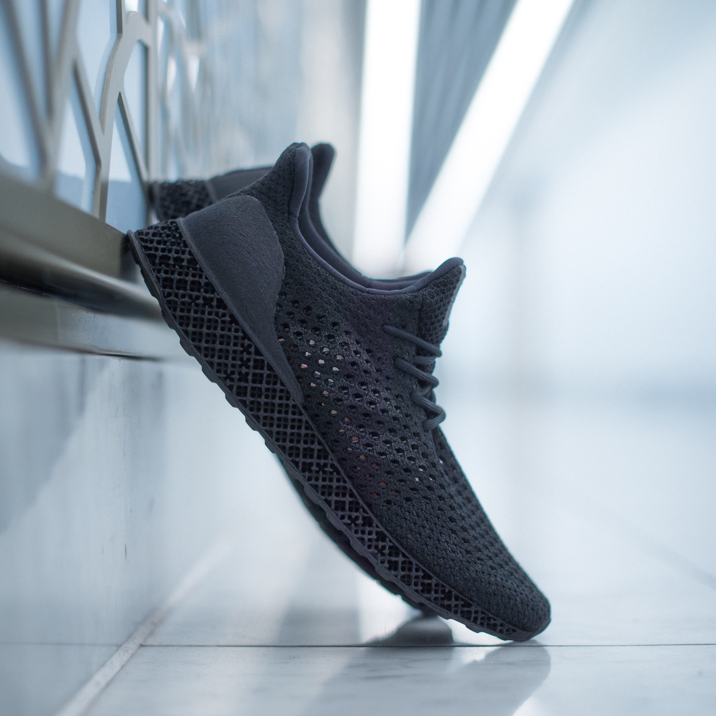 Amanecer puente Increíble  3D-printed Adidas trainers go on sale