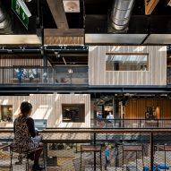 Airbnb Dublin Office interior