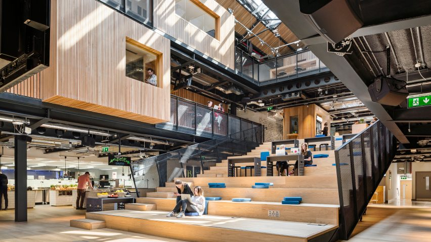 Interior Design Warehouse Airbnb Unveils New Headquarters In A Disused Dublin Warehouse