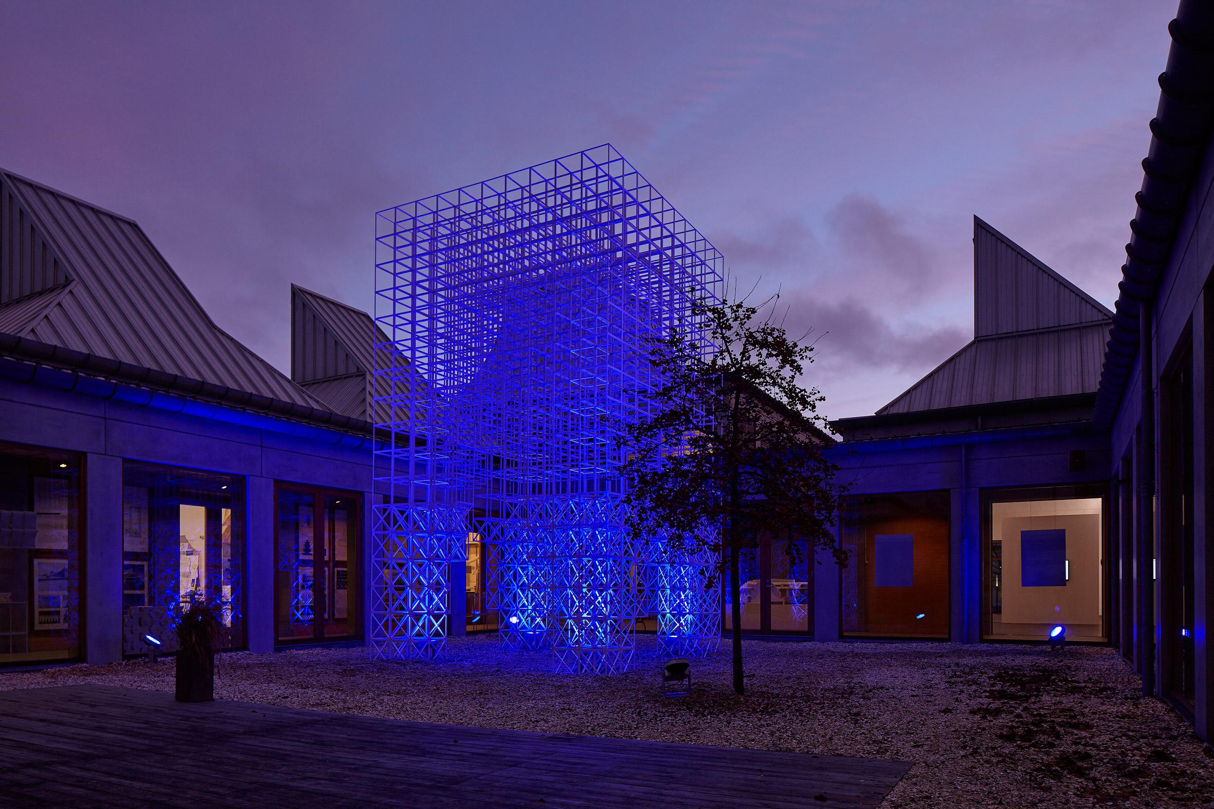 SOM creates Christmas tree alternative at Denmark's Utzon Center