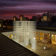 SOM creates Christmas tree alternative at Denmark's Utzon Center