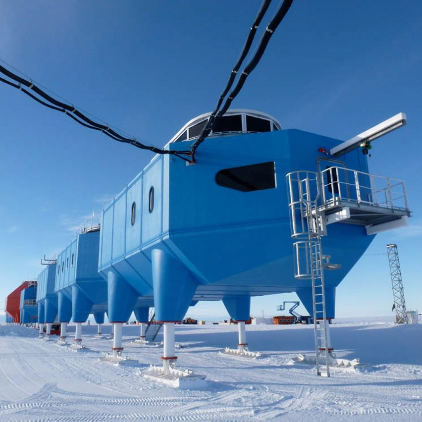 News Antarctic research centre to be towed inland