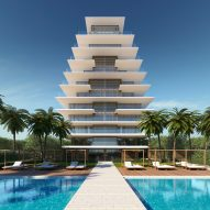 Antonio Citterio unveils design for glass Arte tower on Florida beach