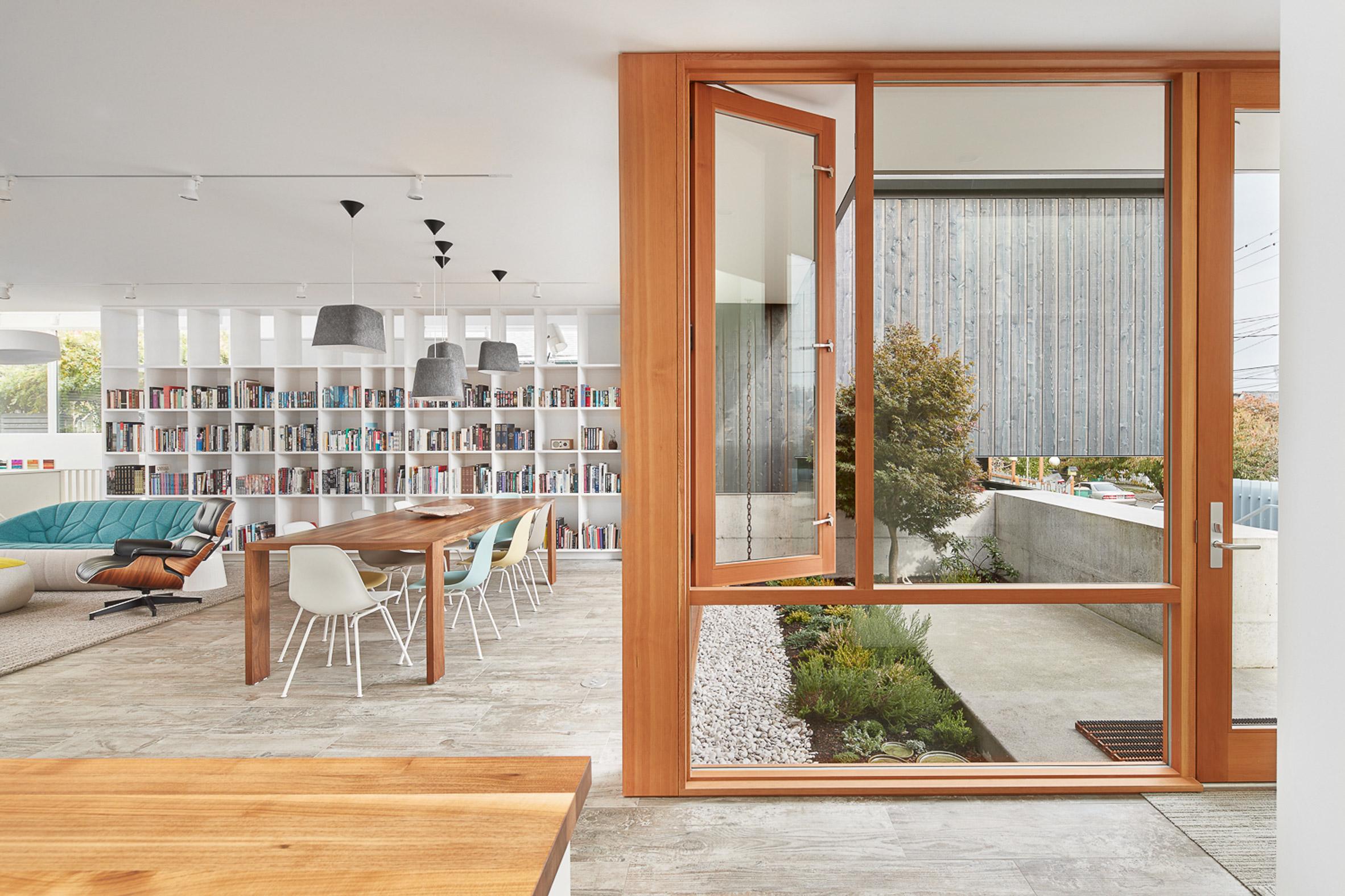 Heliotrope creates cedar-clad urban home and studio in Seattle