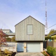 Heliotrope creates cedar-clad home and studio in Seattle