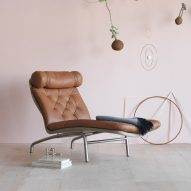 Arne Vodder's 1972 lounge chair gets a rerelease by Erik Jørgensen