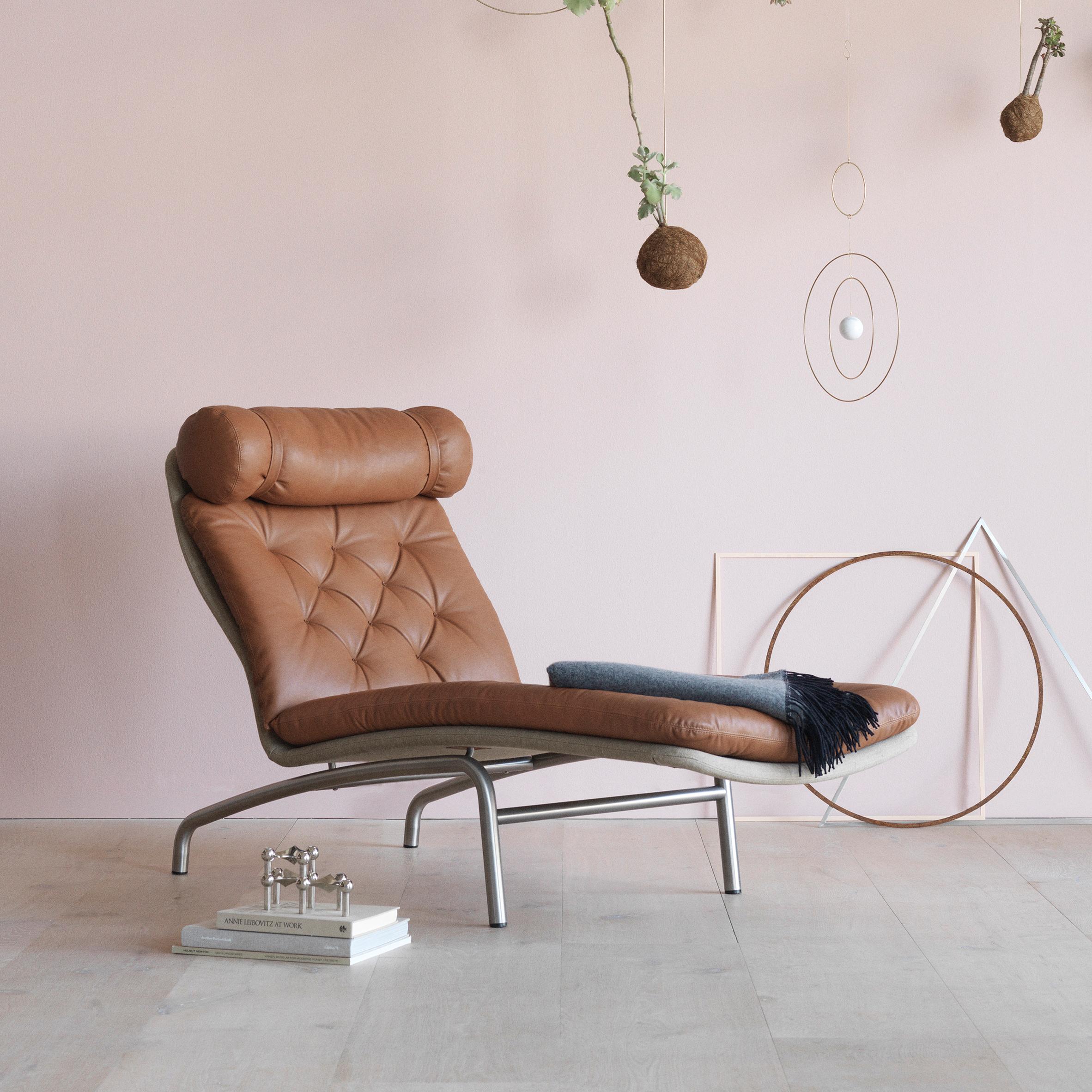 Arne Vodder's 1972 lounge chair gets a rerelease by Erik Jrgensen