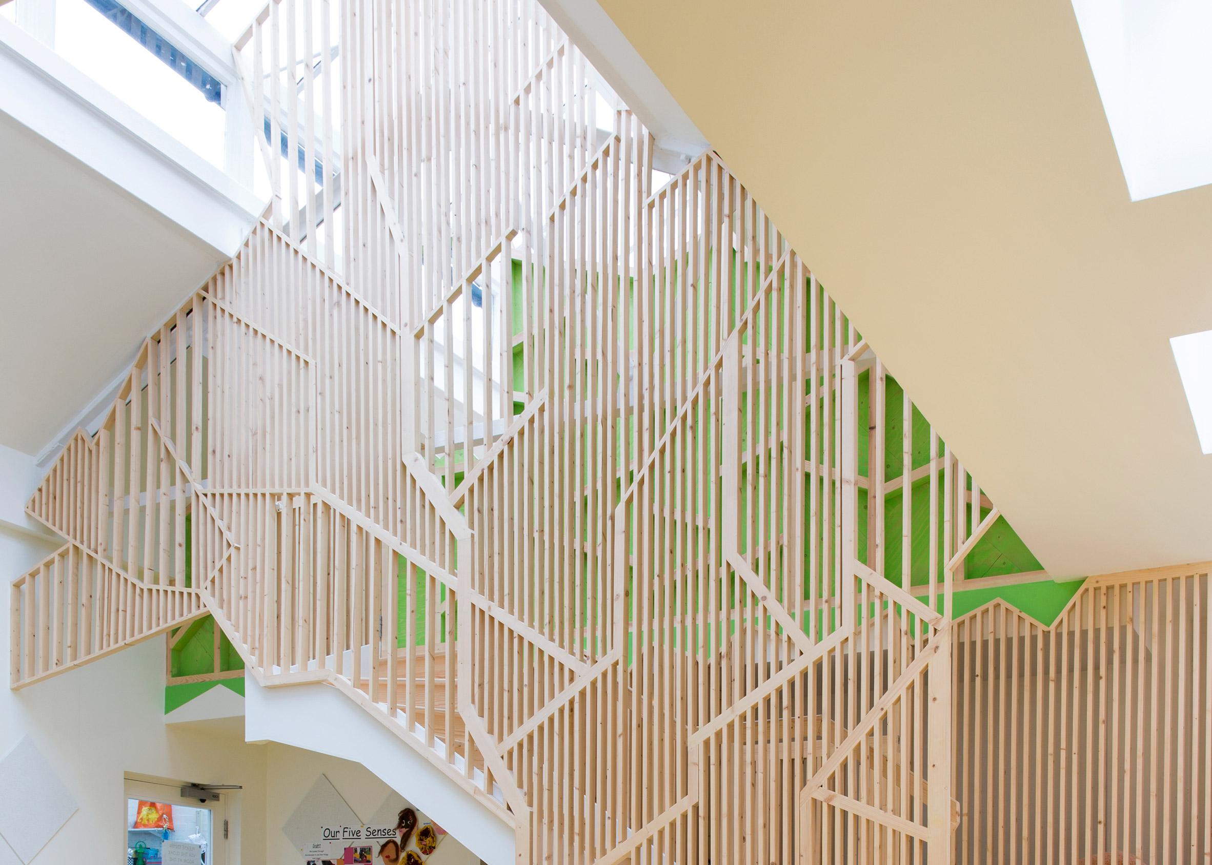 Bath House Nursery by Lipton Plant Architects