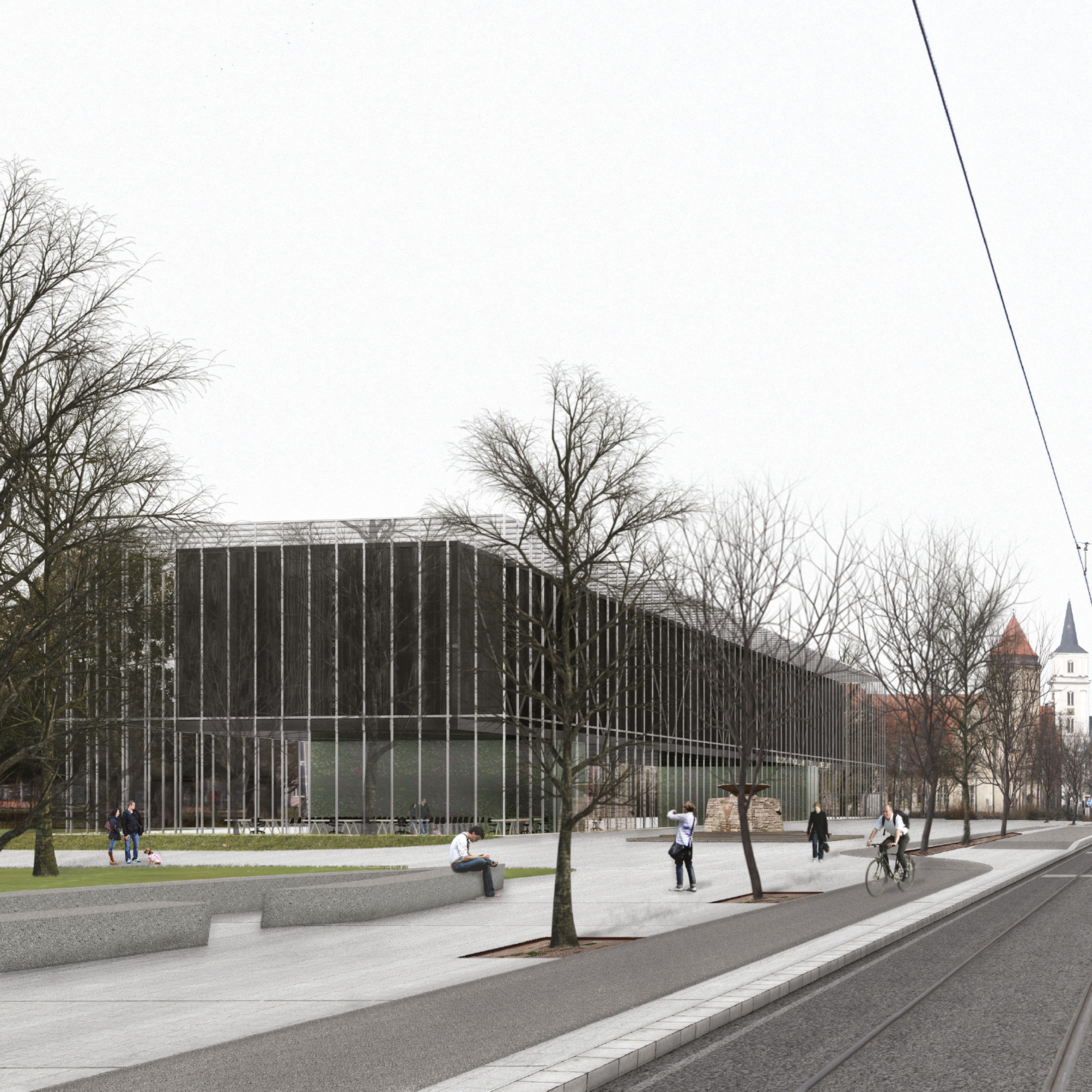 Gonzalez Hinz Zabalau0027s Design For New Bauhaus Museum Dessau Breaks Ground