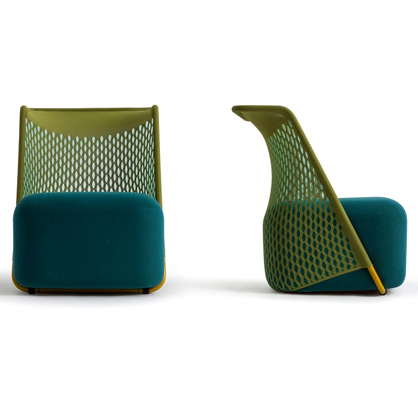 benjamin-hubert-layer-cradle-chair-moroso-greenery-pantone-colour-of-the-year-dezeen_1704