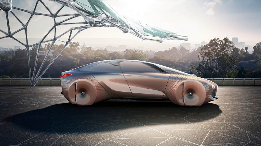 BMW self-driving concept car