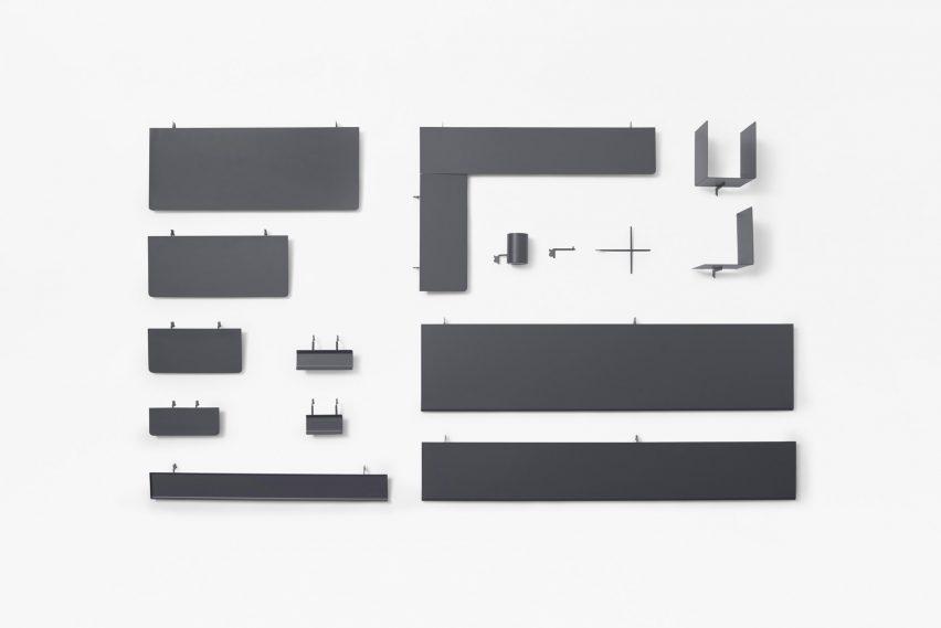 Cartoonist Desk designed by Nendo Japan Furniture