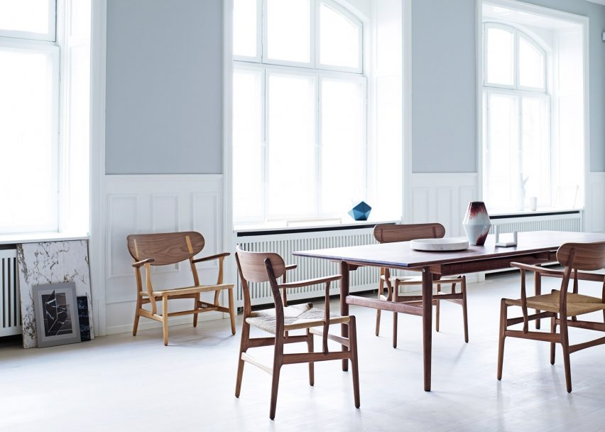 Dezeen\'s top 10 classic furniture designs reissued in 2016