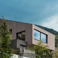 UberRaum Architects staggers Cloud Cuckoo House to offer views of Rhine Valley