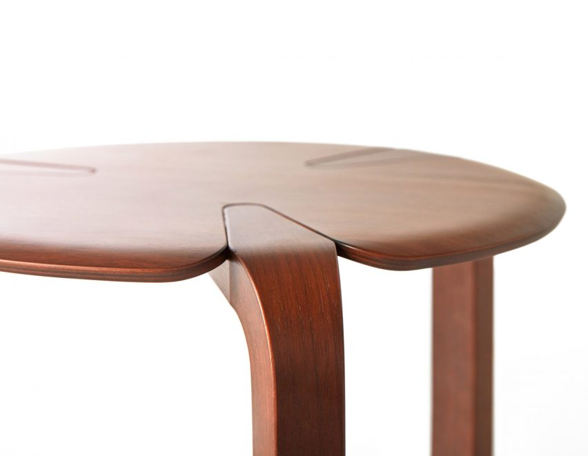 Clover stools for TAIYOU&C Japan - written