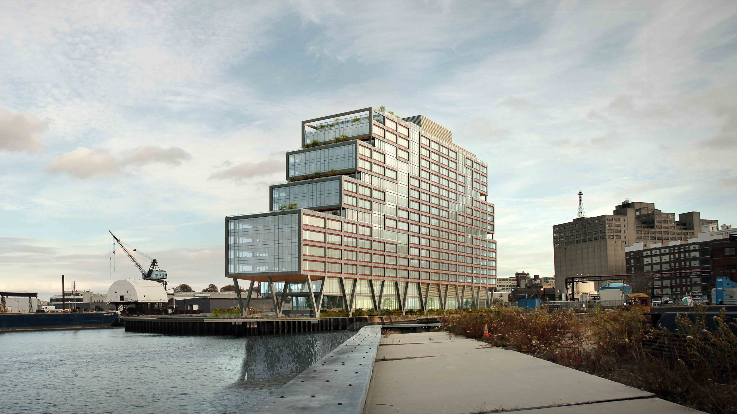 S9 Architecture Designs Huge Co Working Building For Brooklyn Navy Yard