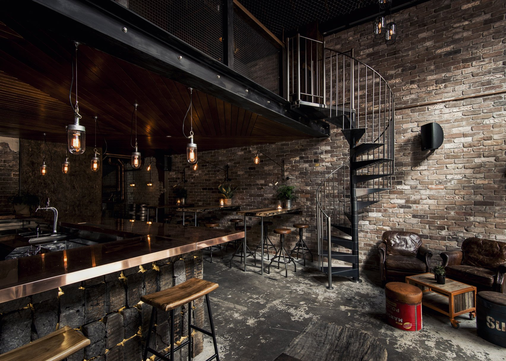 10 Of The Best Bar Interiors From Dezeenu0027s Pinterest Boards