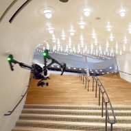 Drones offer fly-through preview of Herzog de Meuron's Elbphilharmonie Hamburg