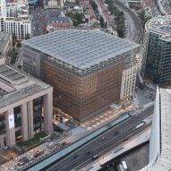 European Union headquarters in Brussels by Samyn and partners