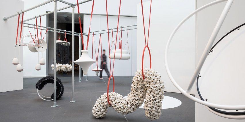 FlockOmania Exhibition by Zoe Robertson, Natalie Garret Brown and Amy Voris