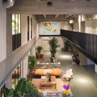 Fosbury & Son co-working space in the WATT-tower, Antwerp