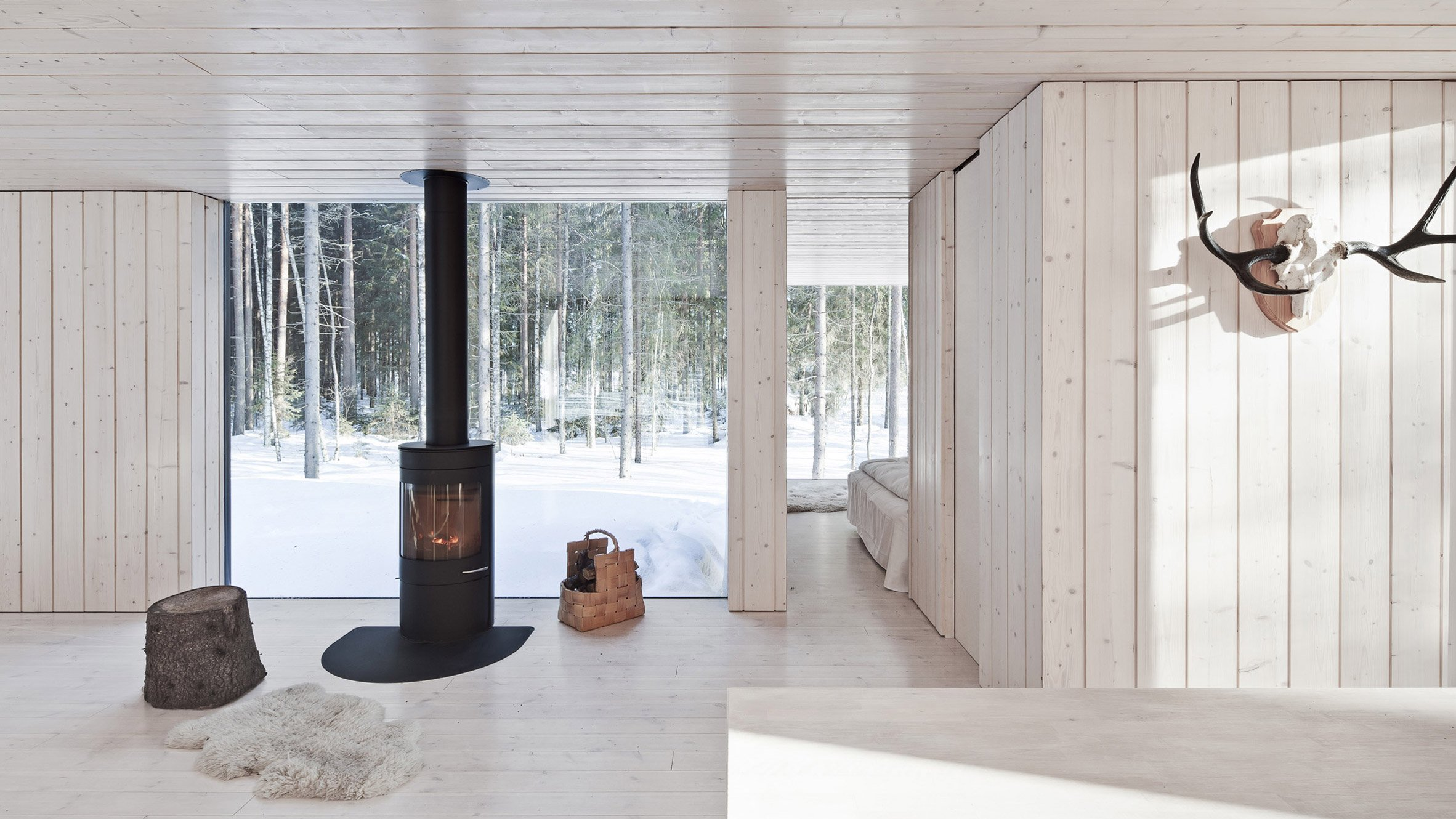 10 cosy homes with fireplaces from dezeen u0027s pinterest boards