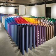 GF Smith opens London Show Space with basementful of paper towers