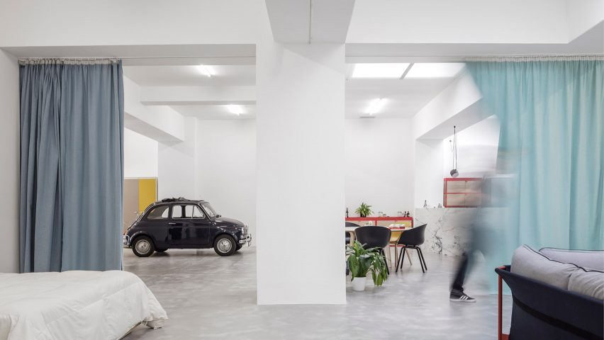 Bon Fala Atelier Converts Windowless Garage Into Home For Young Couple
