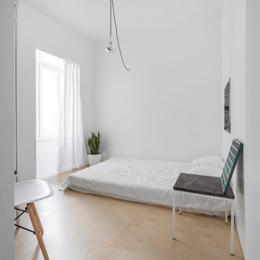 Graça apartment in Lisbon by Fala Atelier