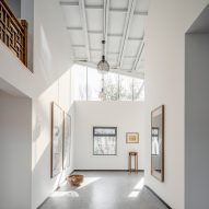 Office Project transforms Beijing factory into skylit artist's home and studio