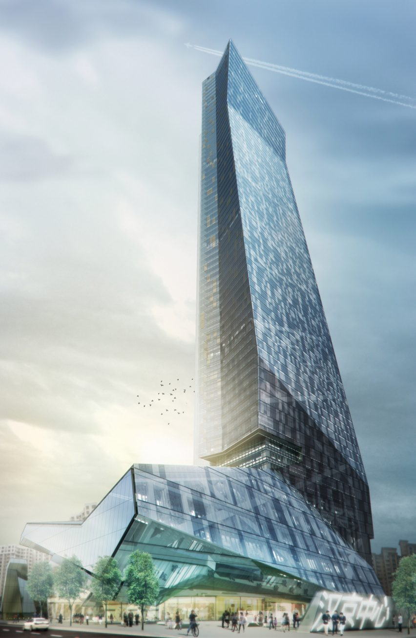 Hanking Centre Tower in Shenzhen Morphosis Architecture