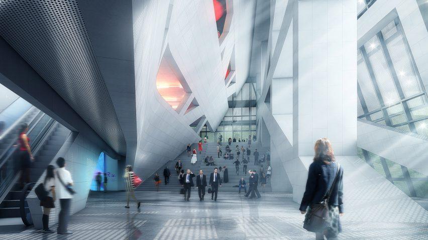 Hanking Centre Tower in Shenzhen Morphosis Architecture