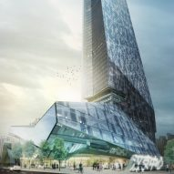 Supertall Shenzhen tower by Morphosis reaches full height