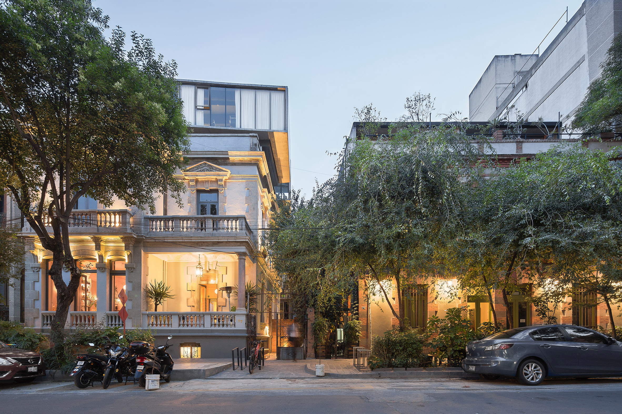 Derelict Mexico City transformed into mixed-use venue